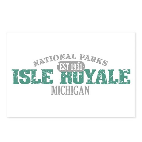 Isle Royale National Park MI Postcards (Package of