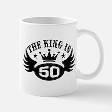 The King is 50 Mug