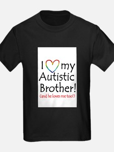 Autistic Bro Bib T-Shirt