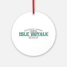 Isle Royale National Park MI Ornament (Round)