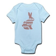REAL BUNNIES ARE NOT TOYS - P Infant Bodysuit