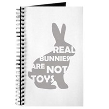 REAL BUNNIES ARE NOT TOYS - G Journal