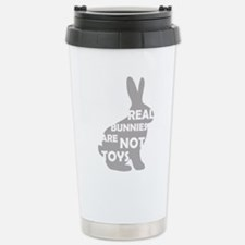REAL BUNNIES ARE NOT TOYS - G Stainless Steel Trav