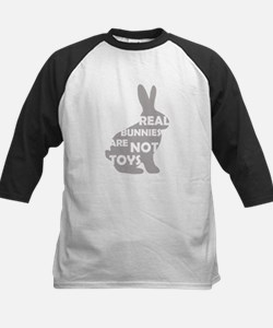 REAL BUNNIES ARE NOT TOYS - G Kids Baseball Jersey
