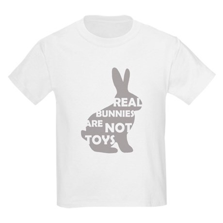 REAL BUNNIES ARE NOT TOYS - G Kids Light T-Shirt