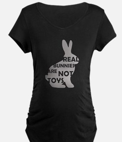 REAL BUNNIES ARE NOT TOYS - G T-Shirt
