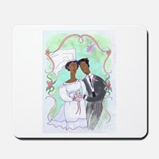 Bride and Groom Mousepad