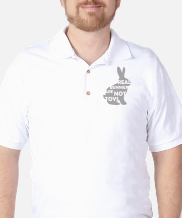REAL BUNNIES ARE NOT TOYS - G Golf Shirt