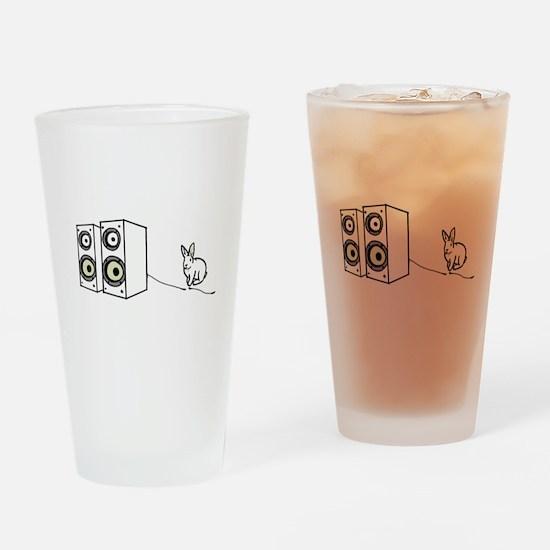 speaker bunny Drinking Glass