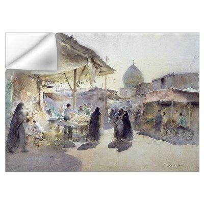 Light and Shade, Shiraz Bazaar, 1994 (w/c on paper Wall Decal