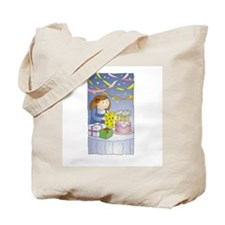 Happy Birthday - Girl Tote Bag