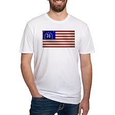 Bennington 1776 Flag Shirt