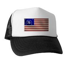 Bennington 1776 Flag Trucker Hat