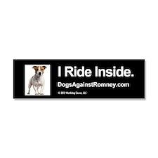 Cute I ride inside Car Magnet 10 x 3
