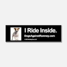 Cute Dogs romney Car Magnet 10 x 3