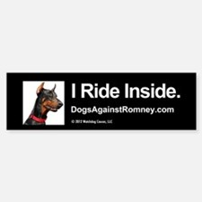 Bumper Sticker - Doberman