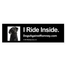Bumper Sticker - Black Lab