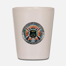 US Coast Guard 1790 Skull Shot Glass