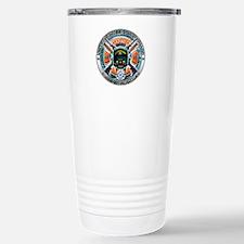 US Coast Guard 1790 Skull Travel Mug