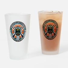 US Coast Guard 1790 Skull Drinking Glass