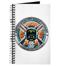 US Coast Guard 1790 Skull Journal