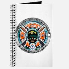 US Coast Guard 1790 Skull Journal
