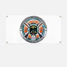 US Coast Guard 1790 Skull Banner