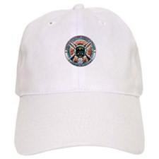 US Coast Guard 1790 Skull Baseball Cap