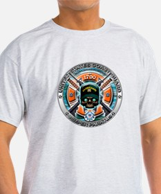 US Coast Guard 1790 Skull T-Shirt