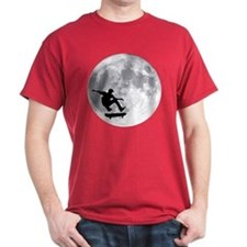 Moon skateboard T-Shirt