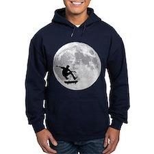 Moon skateboard Hoodie