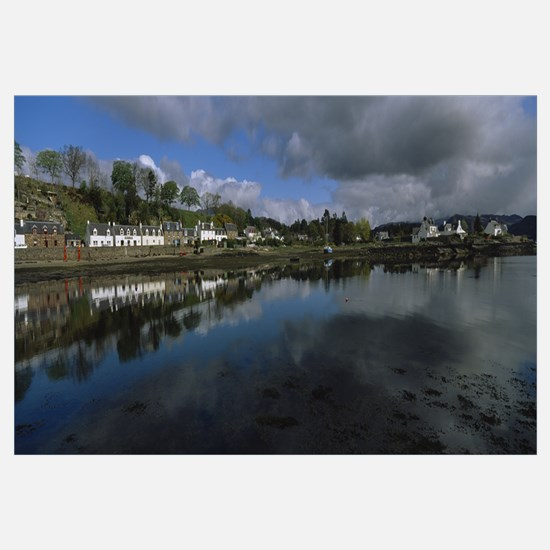 Buildings on the waterfront, Highlands, Scotland