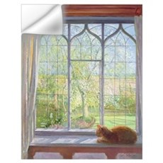 Window in Spring, 1992 Wall Decal