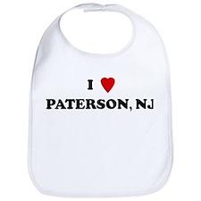 I Love Paterson Bib