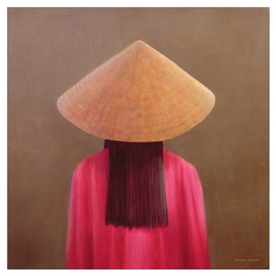 Small Vietnam, back view (oil on canvas) Poster