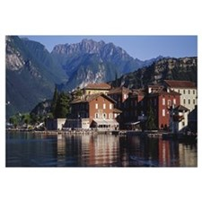 Buildings on the waterfront, Limone, Lake Garda, I