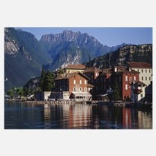 Buildings on the waterfront, Limone, Lake Garda, I