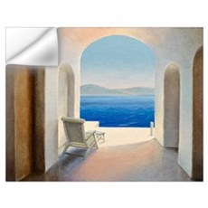 Santorini 9 (oil on board) Wall Decal