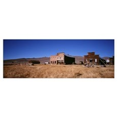 Ghost Town Bodie CA Canvas Art