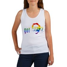 Rainbow Harvey Milk Women's Tank Top