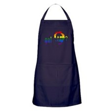 Rainbow Harvey Milk Apron (dark)