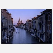 Buildings along a canal, Santa Maria Della Salute,