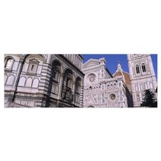 Low angle view of a cathedral, Duomo Santa Maria D Poster