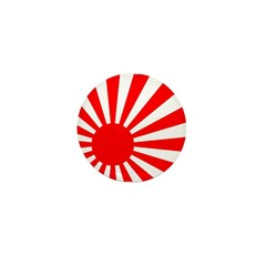 Rising Sun Mini Button (100 pack)