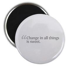 Aristotle Change Magnet