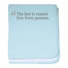 Aristotle The law is baby blanket