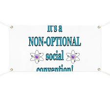 Non-optional Social Conventio Banner