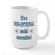 Non-optional Social Conventio Mug