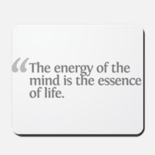 Aristotle The energy Mousepad