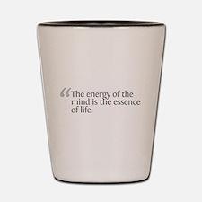 Aristotle The energy Shot Glass